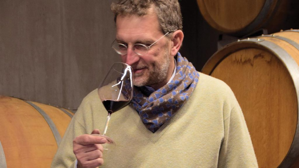 Davide Mozzone in the Cellar